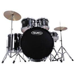 Mapex PRODIGY 5-Piece BLACK ROCK SIZES DRUMKIT