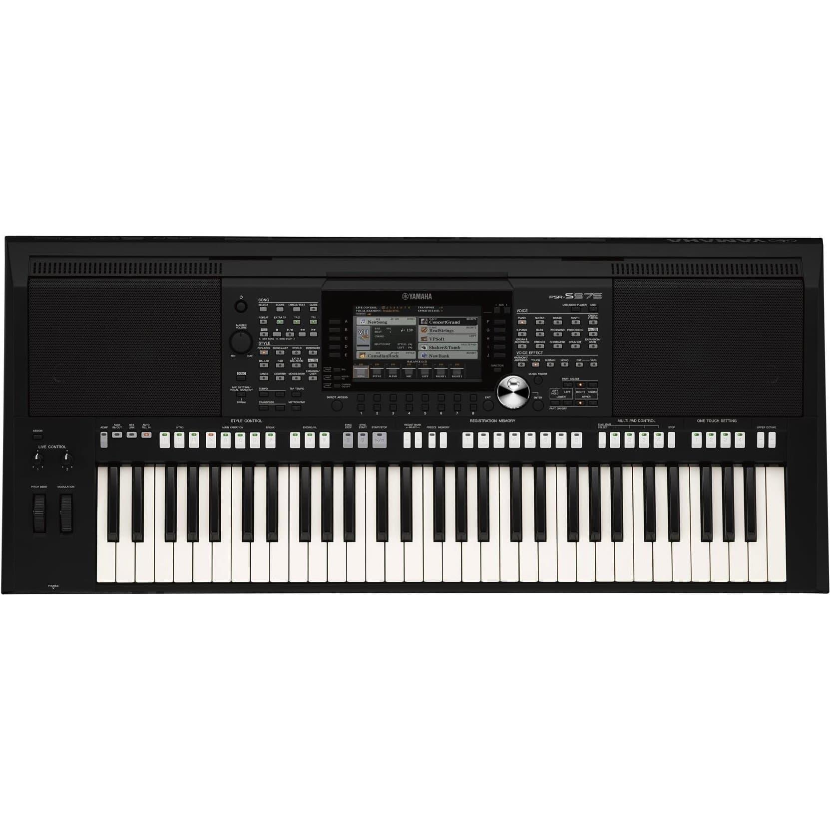 a08c914bfad2f0 YAMAHA PSR-S975 WORKSTATION ARRANGER KEYBOARD | Paul Bothner Music ...