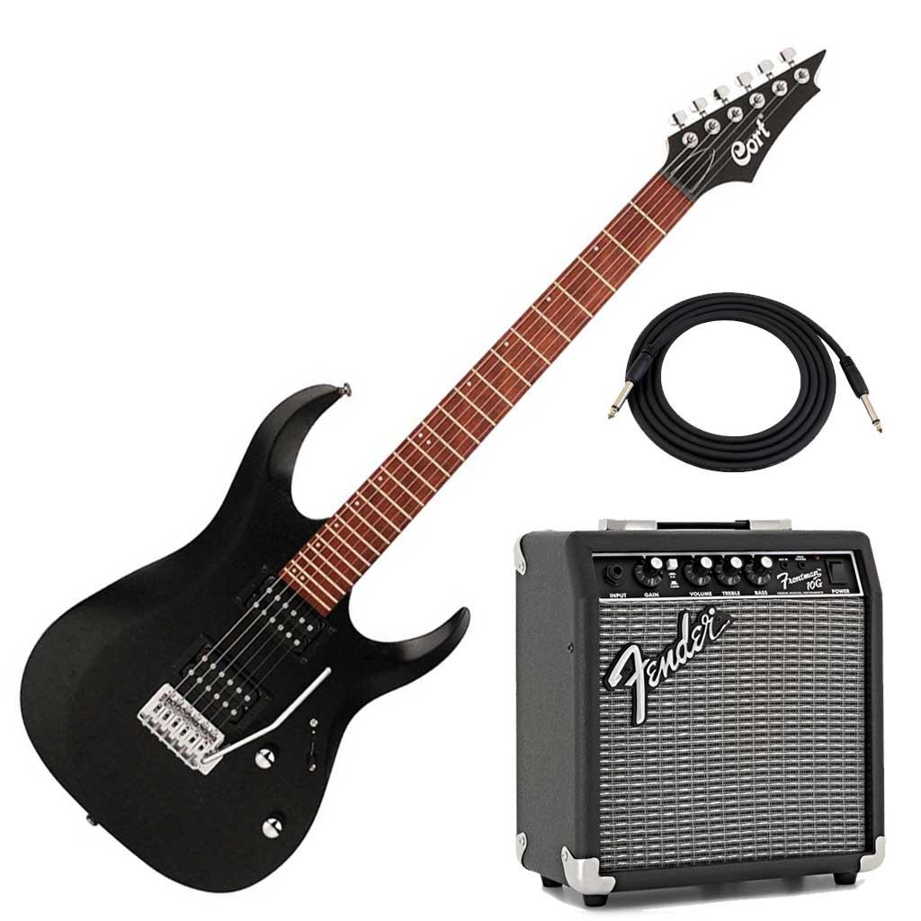 cort electric guitar bundle paul bothner music musical instrument stores. Black Bedroom Furniture Sets. Home Design Ideas