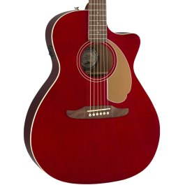 FENDER REDONDO PLAYER ACOUSTIC ELECTRIC GUITAR CANDY APPLE RED