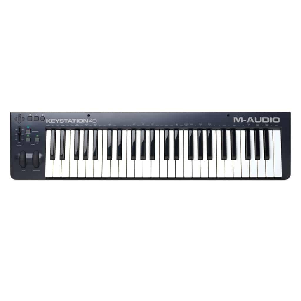 M-Audio KEYSTATION 49 MIDI CONTROLLER | Paul Bothner Music | Musical  instrument stores