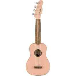Fender VENICE SOPRANO UKULELE – Shell Pink