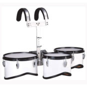 YMD-3P-Marching-Tom-Drums-with-Carrier-and-Stick