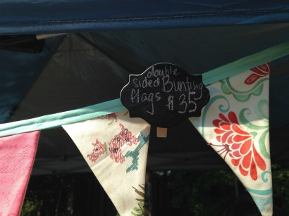 How cute is this handmade bunting?! And only $35!