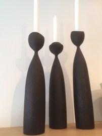 Dark Candlesticks