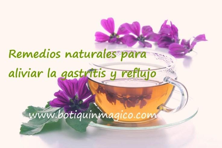 Tratamiento natural para la gastritis y el reflujo