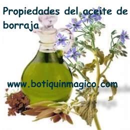 Propiedades del aceite de borraja