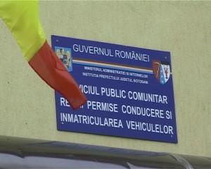serviciul de permise si inmatriculari auto Botosani