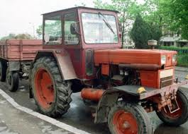 tractor pe drum