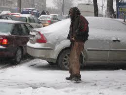 persoane fara adapost iarna