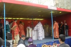 slujba Biserica Sf Gheorghe-IPS Teofan
