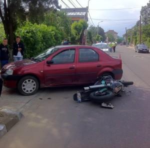 accident motocicleta tudor vladimirescu