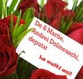 Felicitare de 8 Martie Dolineaschi