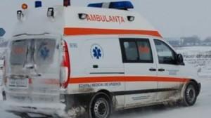 accident tiguan+ ambulanta iarna