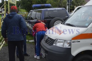 ambulanta copil cros jandarmerie