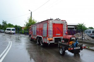 masina pompieri cu pompa apa botosani