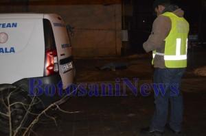 criminalisti cadavru tanara aruncata de pe bloc primaverii botosani2