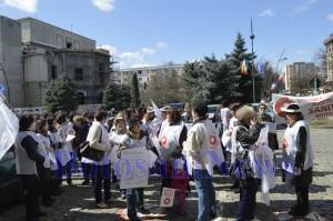 pichetare sanitas proteste sanatate prefectura botosani3