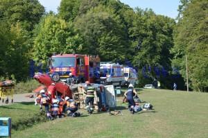 accident masini rasturante pompieri