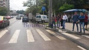 accident pe strada Ion Pillat- Botosani