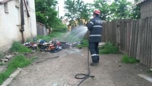 interventie incendiu pompieri trusesti- botosani