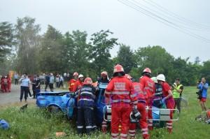 pompieri masina descarcerare