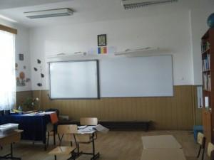 tabla sala clasa scoala unteni