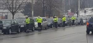 politisti dand amenzi la Botosani