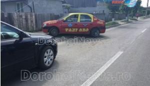 accident taxi audi dorohoi