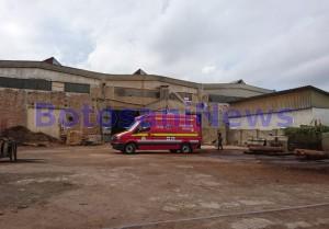accident munca - fabrica de prelucrare a lemnului botosani