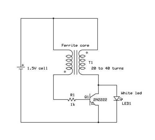 small resolution of led circuit diagram joul theif