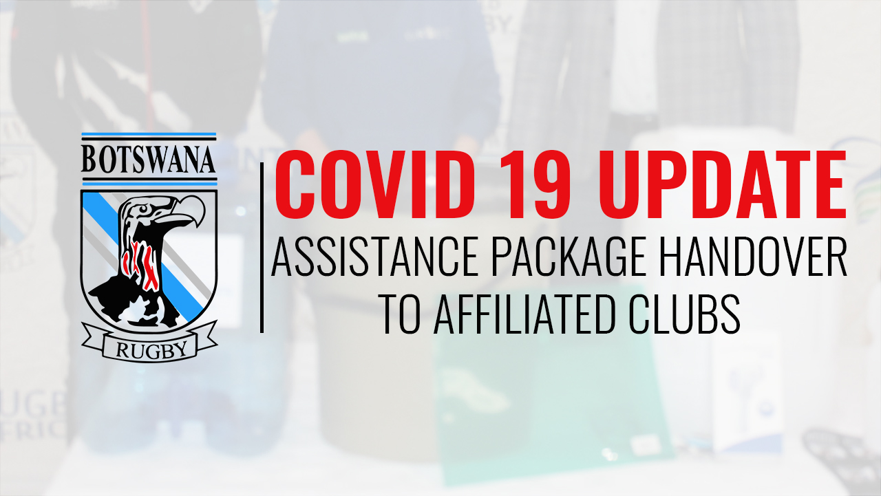 Covid Assistance Packages Handed To Clubs