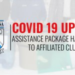 Botswana Rugby Union Covid 19 update Rugby Africa assistance package handover Header