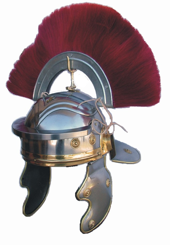 Roman Centurion Helmet With Crest From Roman Helmets For