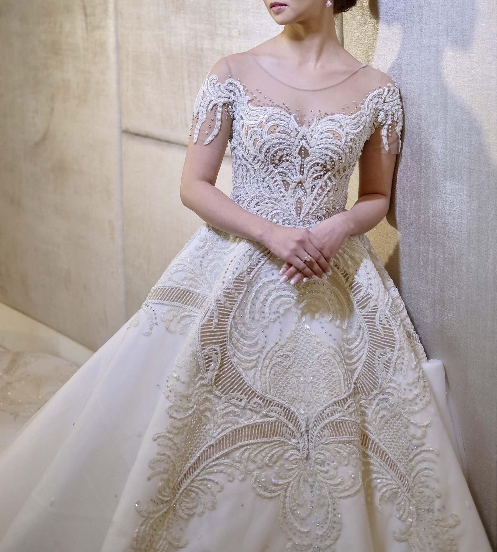 Francis Libiran 002 Bridal Dress Rental Bottega Bellance