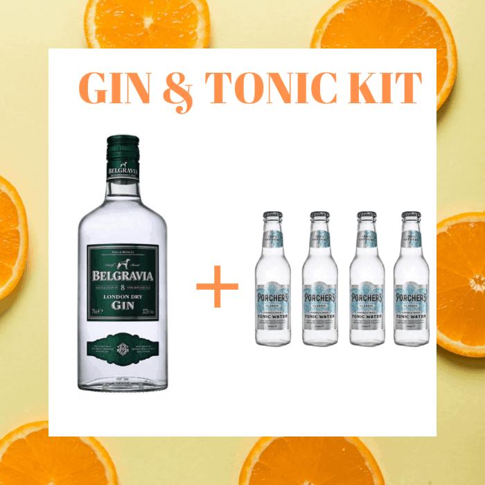 Belgravia Gin & Tonic Kit