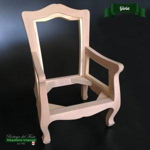 Gioia – Fusto per seduta bimbi in legno massello di faggio