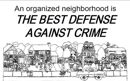 Block Leader Training & Property Crime Prevention