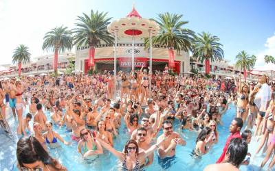 Top 3 Pool Party Events in Las Vegas during August