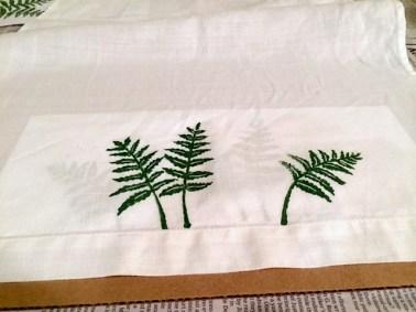 stamping ferns