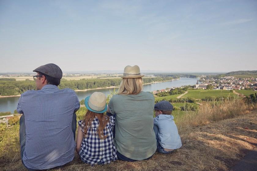 Steffen und Ursula Müller mit ihren Kindern