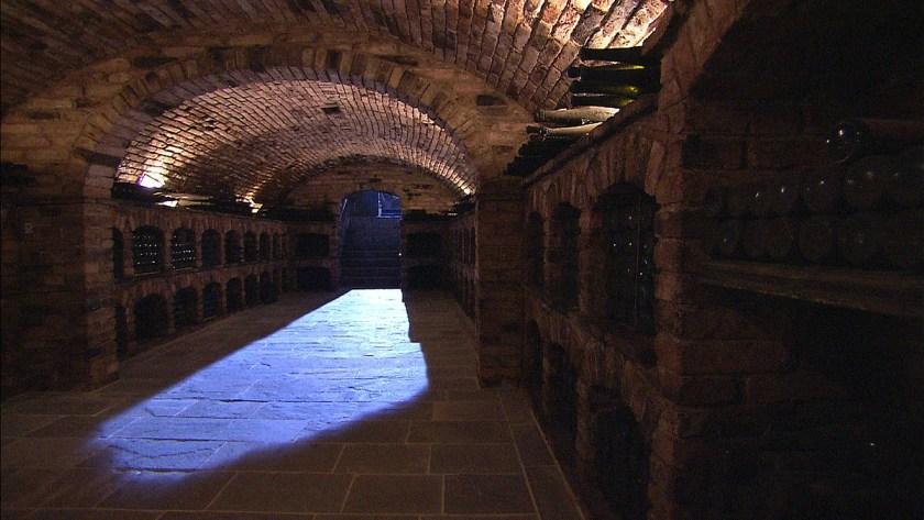 Flaschenkeller des Weinguts Alzinger in der Wachau
