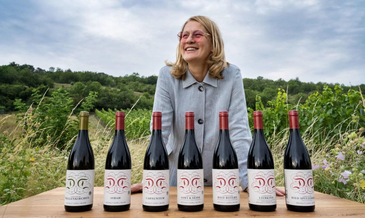 Weingut Dorli Muhr und der Spitzerberg