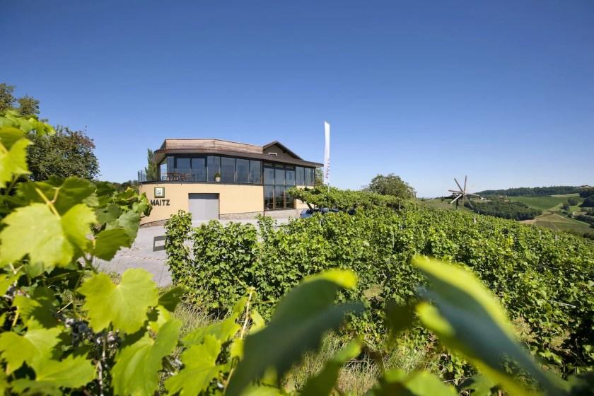 Weingut Wolfgang Maitz in der Südsteiermark
