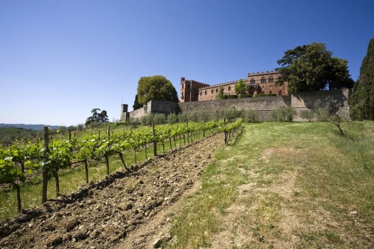 Castello di Brolio in der Toskana