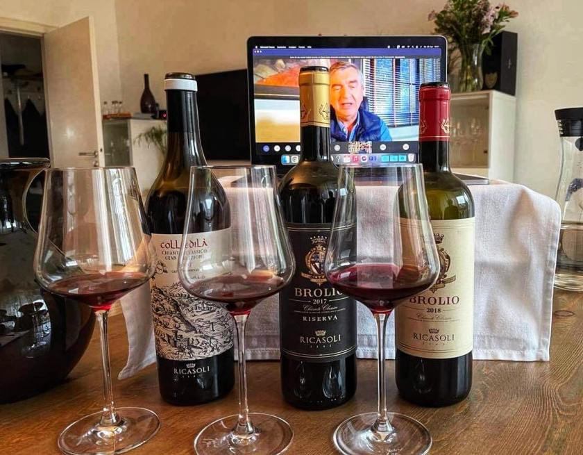 Online-Weinprobe mit Francesco Ricasoli