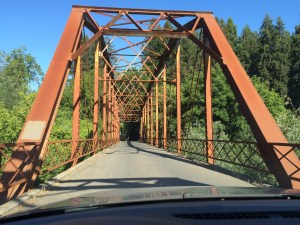 The Wohler Bridge, Russian River Valley