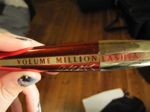 My favorite mascara: Volume Million Lashes by L'Oréal