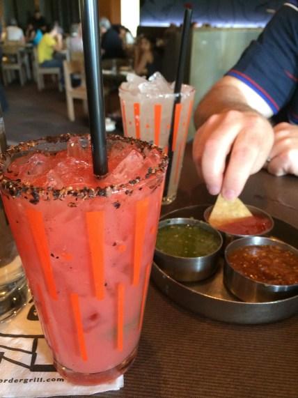 Blood Orange & Jalapeno Marg @ Border Grill