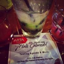Arta Cocktails at Machete